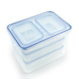 Lock & Lock 7-Piece Food Storage Container Set alt image 4