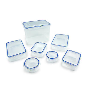 Lock & Lock 7-Piece Food Storage Container Set alt image 6