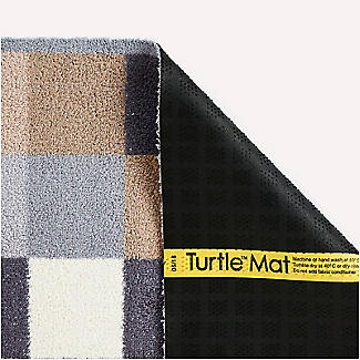 Natural Squares Indoor Turtle Mat 85 x 59cm alt image 3