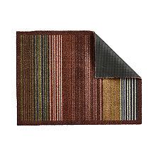Hug Rug Indoor Mat Earth Stripe 80 x 59cm