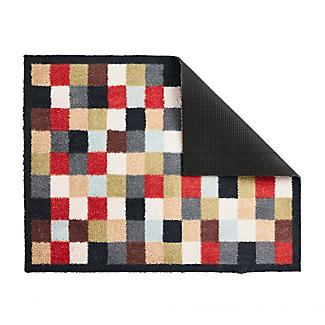Hug Rug Indoor Mat Bright Mosaic Tiles 85 x 65cm alt image 2