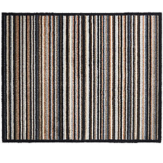 Pebble Stripe Door Mat 80 x 67cm