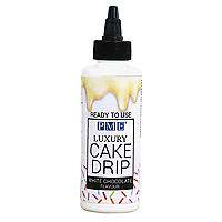 PME Ready-to-Use Cake Drip and Drizzle – White Chocolate Flavour