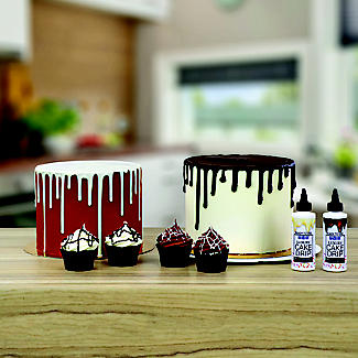 PME Ready-to-Use Cake Drip and Drizzle – White Chocolate Flavour alt image 4