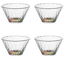 Kaleidoscope Plastic Serving Bowls – Set of 4