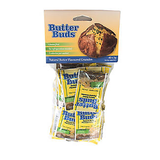 Butter Buds Sachets Of Dried Low Fat Butter 40 x 2g. alt image 3