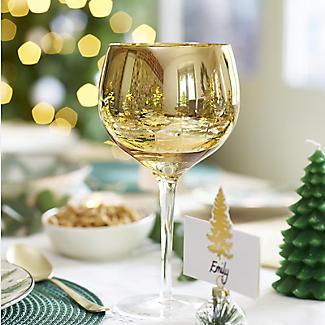 Gold Tree Gin Glasses – Set of 2 alt image 2