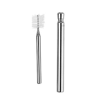 Telescopic Stainless Steel Travel Straw with Carry Case and Cleaning Brush alt image 2