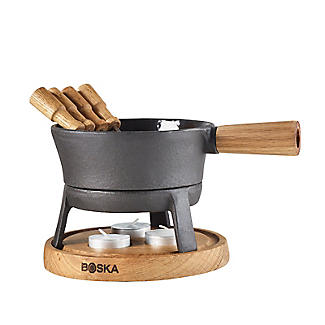 Boska Cast Iron Fondue Set Pro S – With 4 Fondue Forks alt image 3