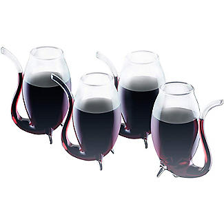 Barcraft 4 Glass Port Sippers Gift Set