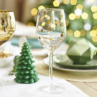 Mikasa Gold Etched Wine Glasses – Set of 4 alt image 3