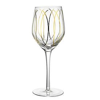 Mikasa Gold Etched Wine Glasses – Set of 4 alt image 4