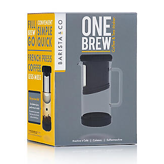 Barista & Co. OneBrew One-Cup Coffee Maker and Tea Infuser 350ml alt image 10