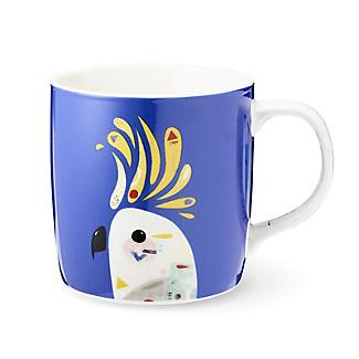 Pete Cromer Porcelain Mug – Cockatoo 375ml