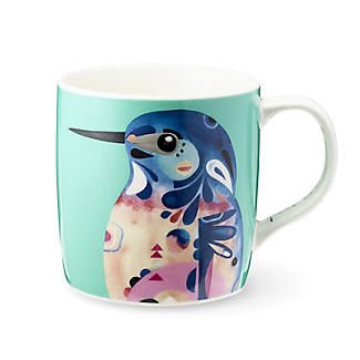 Pete Cromer Porcelain Mug – Kingfisher 375ml