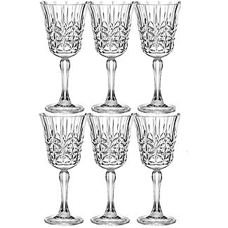 Crystal-Look Acrylic Wine Glasses – Set of 6