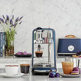 Nespresso Sage The Creatista Plus Coffee Machine Damson Blue SNE800DBL alt image 2