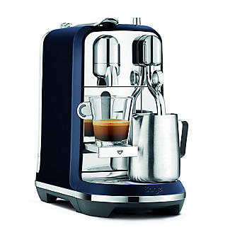 Nespresso Sage The Creatista Plus Coffee Machine Damson Blue SNE800DBL alt image 5
