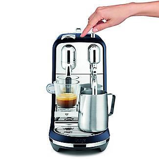 Nespresso Sage The Creatista Plus Coffee Machine Damson Blue SNE800DBL alt image 6