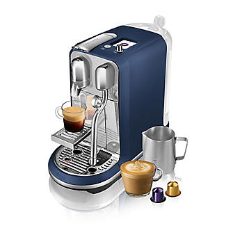 Nespresso Sage The Creatista Plus Coffee Machine Damson Blue SNE800DBL alt image 7