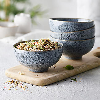 4 Denby Pottery Studio Grey  Rice Bowls  alt image 2