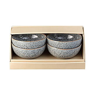4 Denby Pottery Studio Grey  Rice Bowls  alt image 3