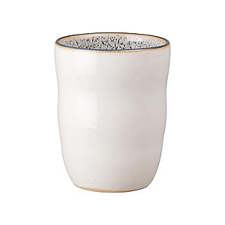 Denby Pottery Studio Grey Handleless Mug White 270ml
