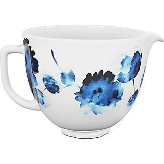KitchenAid 4.7L Ink Watercolour Ceramic Bowl 5KSM2CB5PIW