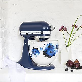KitchenAid 4.7L Ink Watercolour Ceramic Bowl 5KSM2CB5PIW alt image 2