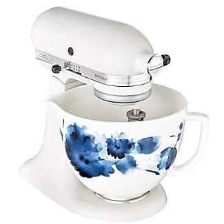 KitchenAid 4.7L Ink Watercolour Ceramic Bowl 5KSM2CB5PIW alt image 5