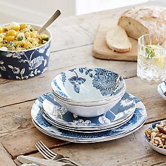 Summer Blooms Melamine Dinner Plates – Set of 4 alt image 2