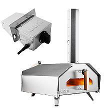 Ooni Pro Outdoor Pizza Oven with Gas Burner Attachment