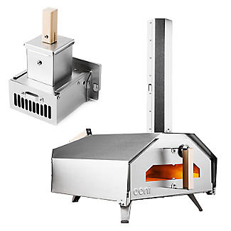 Ooni Pro Outdoor Pizza Oven with Wood Pellet Burner Attachment
