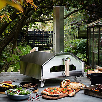 Ooni Pro Outdoor Pizza Oven with Wood Pellet Burner Attachment alt image 2