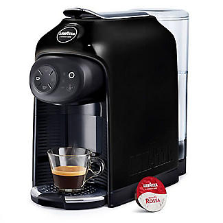 Lavazza A Modo Mio Idola Capsule Coffee Machine Black