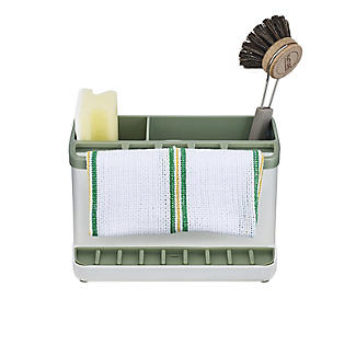 ILO Large Sink Tidy White and Sage Green