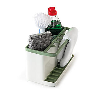 ILO Large Sink Tidy White and Sage Green alt image 3