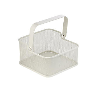 2 Folding Handle Mesh Kitchen Storage Baskets alt image 8