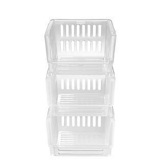 3 Lakeland Stackable Storage Baskets  alt image 5