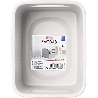 Tatay Baobab 1.5L Home Storage Basket - White alt image 4