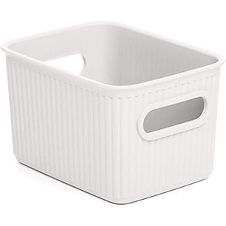 Tatay Baobab 5L Home Storage Basket - White