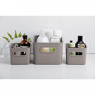 Tatay Baobab 5L Home Storage Basket - White alt image 2