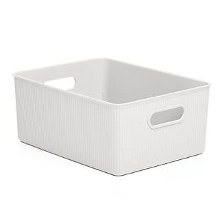 Tatay Baobab 15L Home Storage Basket - White