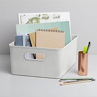 Tatay Baobab 15L Home Storage Basket - White alt image 2