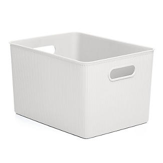 Tatay Baobab 22L Home Storage Basket - White