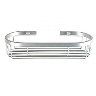 Tatay Ice Collection Aluminium Oval Shower Caddy alt image 1