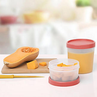 Tatay Screw Top Food Containers Coral - Set of 3 alt image 2