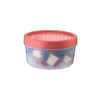Tatay Screw Top Food Containers Coral - Set of 3 alt image 3