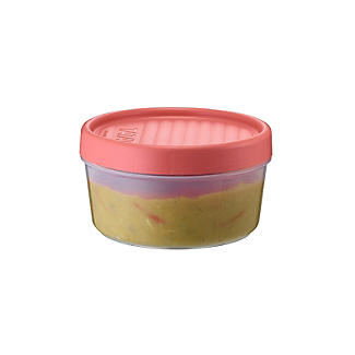 Tatay Screw Top Food Containers Coral - Set of 3 alt image 4