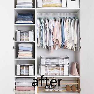 Lakeland Vacuum Clothes & Duvet Storage Tote Bags Bundle alt image 10